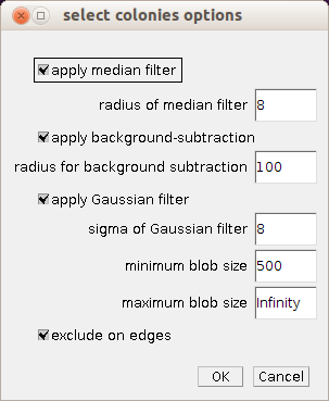 Colony Blob Count Tool - ImageJ-macros - MRI's Redmine